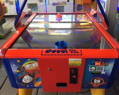 Air Hockey – Magic Used
